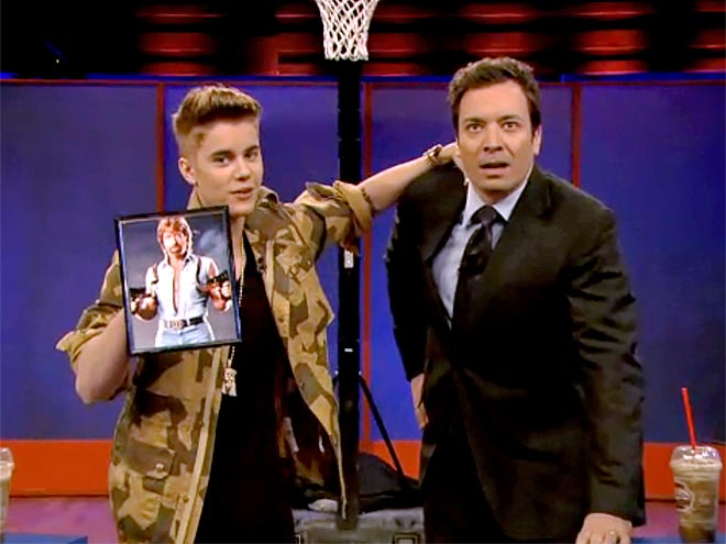 photo | Jimmy Fallon, Justin Bieber