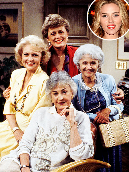 photo | Bea Arthur, Betty White, Estelle Getty, Rue McClanahan, Scarlett Johansson