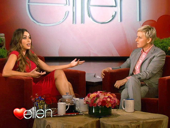 photo | Ellen DeGeneres, Sofia Vergara