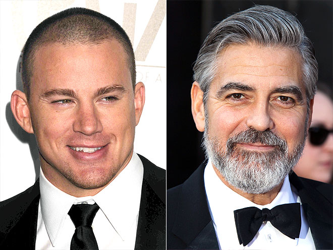 photo | Channing Tatum, George Clooney