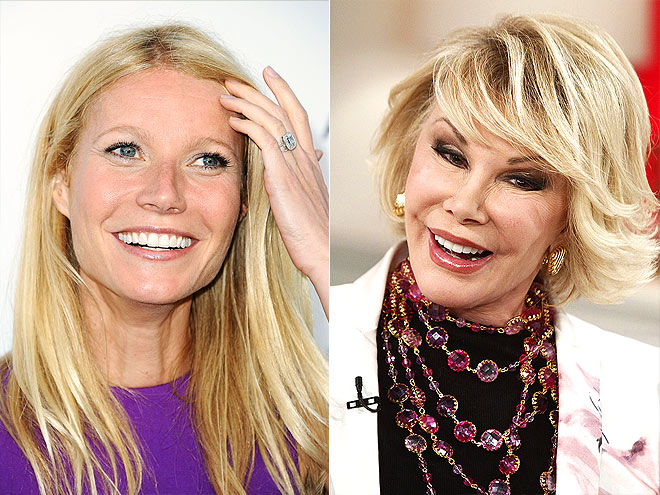 photo | Gwyneth Paltrow, Joan Rivers