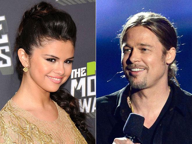 photo | Brad Pitt, Selena Gomez