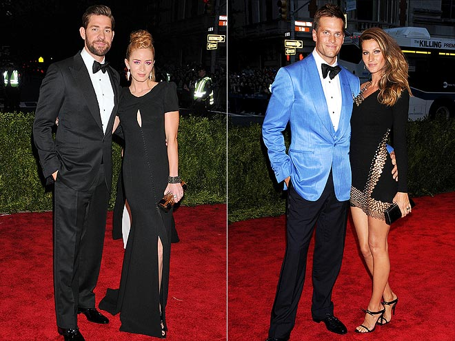 photo | Emily Blunt, Gisele Bundchen, John Krasinski, Tom Brady