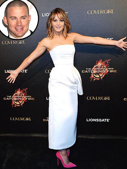 photo   Channing Tatum, Jennifer Lawrence