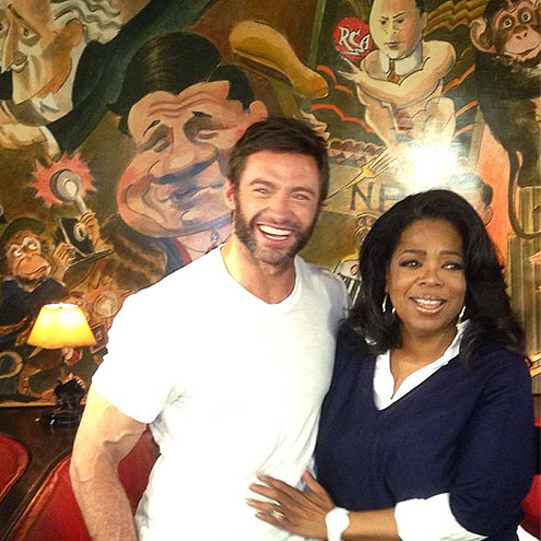 photo | Hugh Jackman, Oprah Winfrey