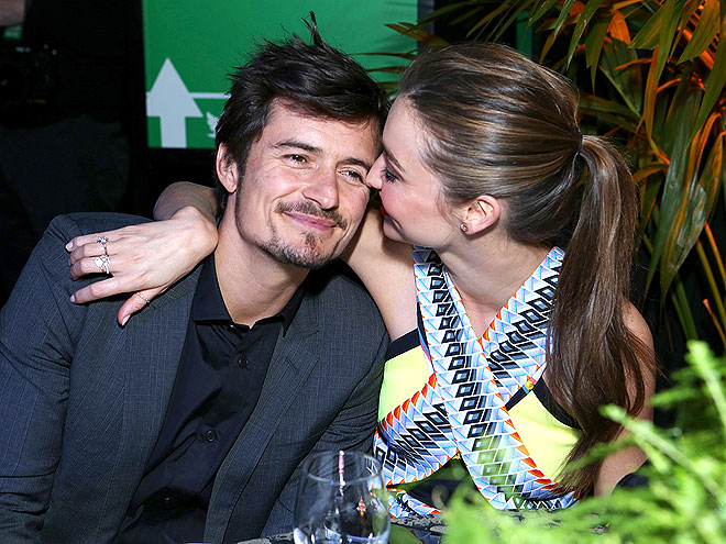 photo | Miranda Kerr, Orlando Bloom
