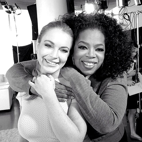 photo | Lindsay Lohan, Oprah Winfrey