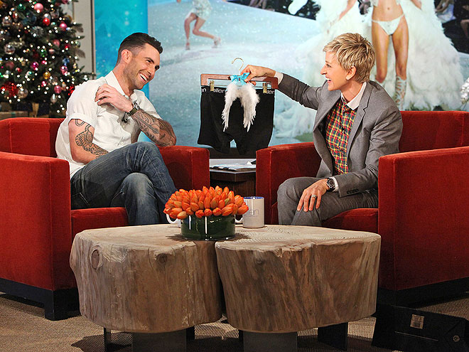 photo | Adam Levine, Ellen DeGeneres