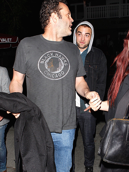 VINCE & ROB photo | Robert Pattinson, Vince Vaughn