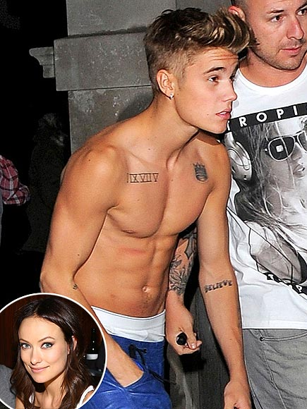 2. Olivia Wilde Is Not Impressed photo | Justin Bieber, Olivia Wilde