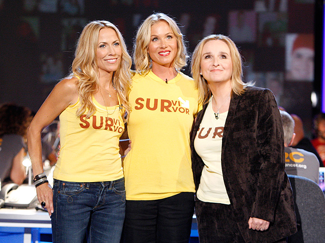 CHRISTINA APPLEGATE photo | Christina Applegate, Melissa Etheridge, Sheryl Crow