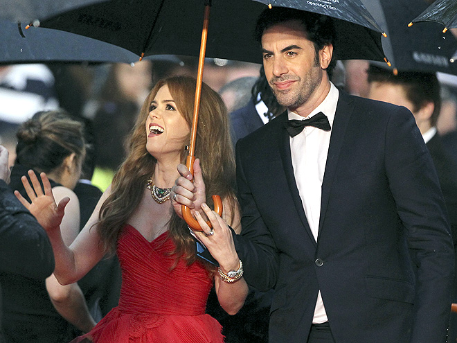 A SIGHT TO SEE photo | Isla Fisher, Sacha Baron Cohen