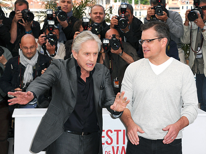 TALKING POINTS photo | Matt Damon, Michael Douglas