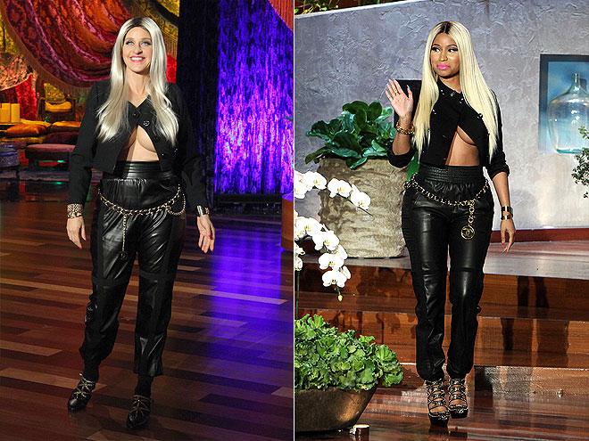 ELLEN DEGENERES: MOST UNLIKELY PAIRING photo   Ellen DeGeneres, Nicki Minaj