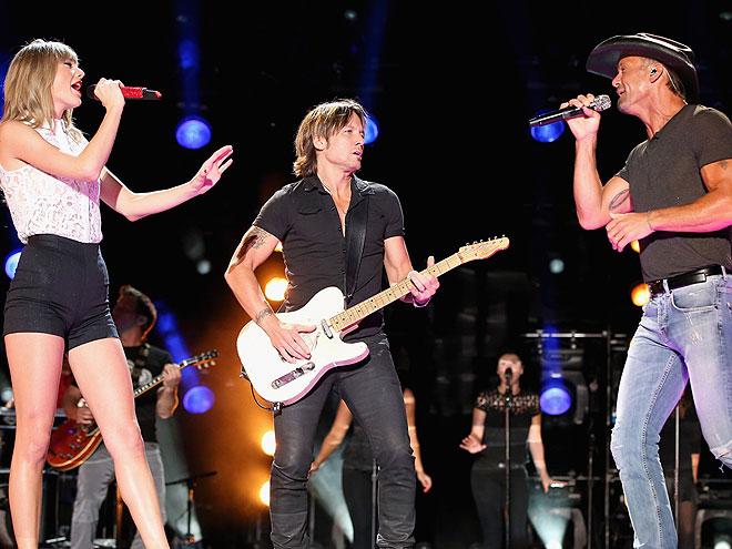 THREE'S COMPANY photo | Keith Urban, Taylor Swift, Tim McGraw
