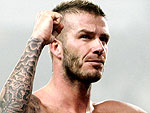 David Beckham&#39;s Sexiest Shirtless Shots on the Soccer Field | David Beckham