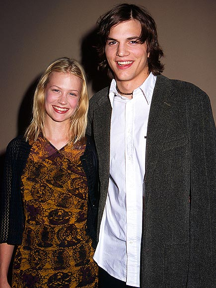 JANUARY JONES photo | Ashton Kutcher, January Jones