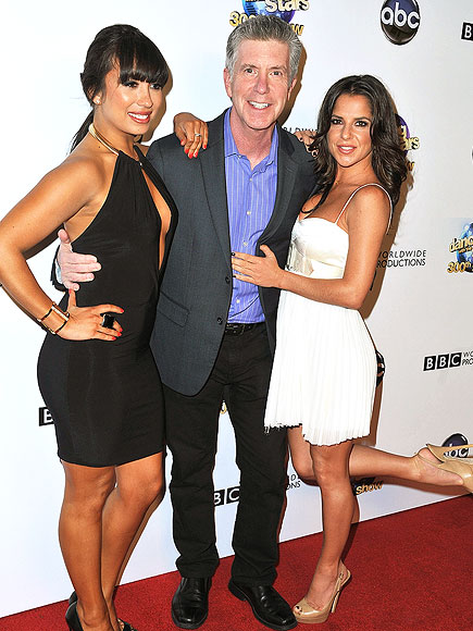 HOST WITH THE MOST photo | Cheryl Burke, Kelly Monaco, Tom Bergeron