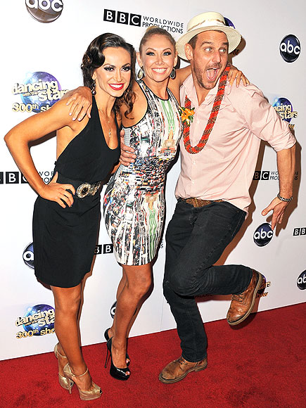 THREE'S COMPANY photo | Karina Smirnoff, Kym Johnson