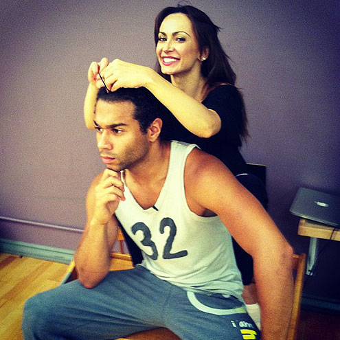 HELPING HAND photo | Corbin Bleu, Karina Smirnoff