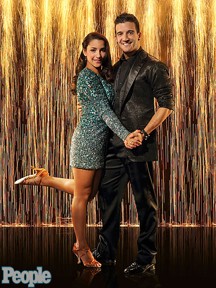 ALY RAISMAN & MARK BALLAS photo | Aly Raisman, Mark Ballas