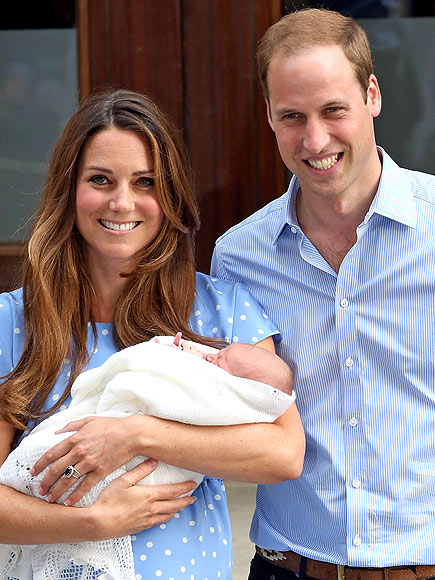 1. THE ROYAL BABY ARRIVED photo | Kate Middleton