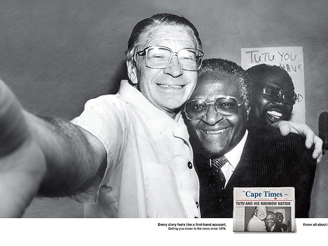 BEYERS NAUDÉ & DESMOND TUTU photo | Desmond Tutu