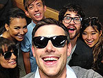 Cory Monteith Funeral Glee Cast