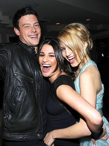 DIANNA AGRON photo | Cory Monteith, Dianna Agron, Lea Michele