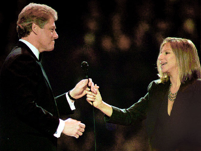 BILL CLINTON: BARBRA STREISAND photo | Barbra Streisand, Bill Clinton