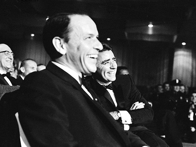 JOHN F. KENNEDY: FRANK SINATRA & PETER LAWFORD photo | Frank Sinatra