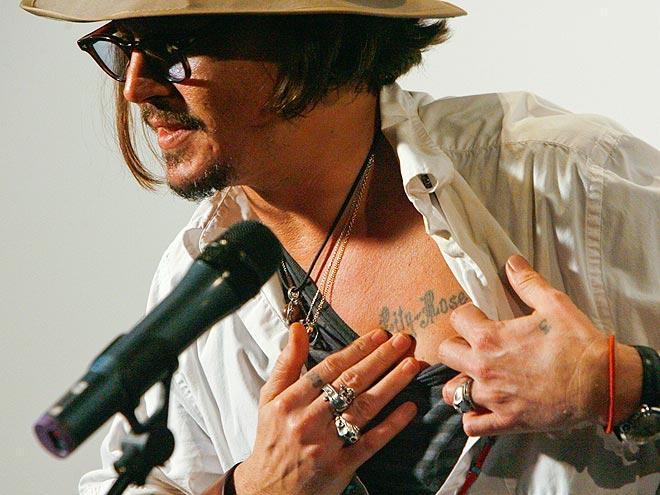CHEST photo   Johnny Depp