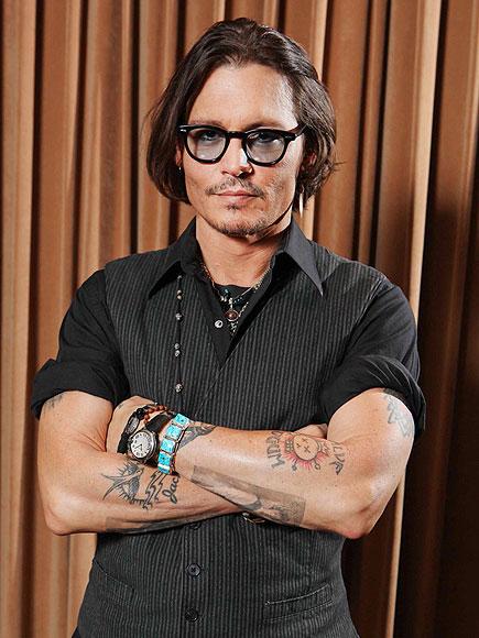 LEFT ARM photo   Johnny Depp