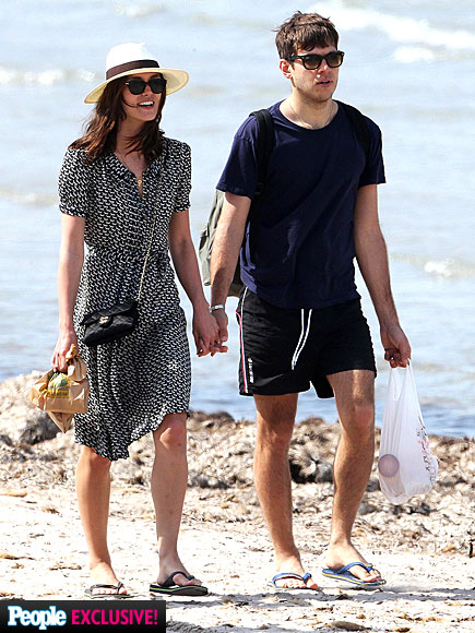 HAND IN HAND photo | James Righton, Keira Knightley