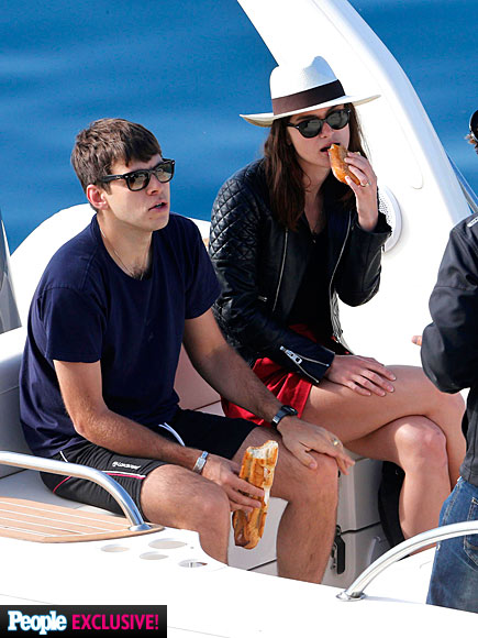 KEIRA AND JAMES  photo | James Righton, Keira Knightley