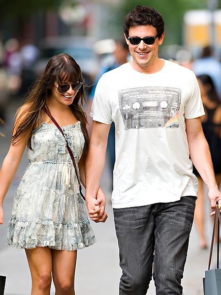 A HOLD ON YOU photo | Cory Monteith, Lea Michele
