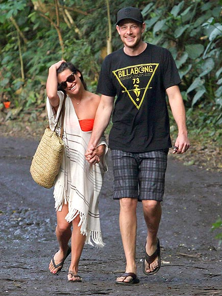 PARADISE FOUND photo | Cory Monteith, Lea Michele