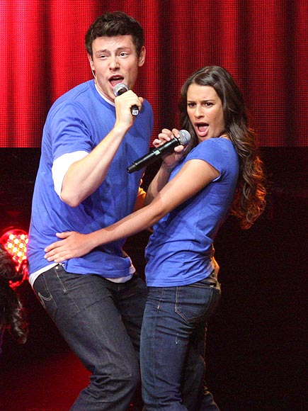 IN HARMONY photo | Cory Monteith, Lea Michele