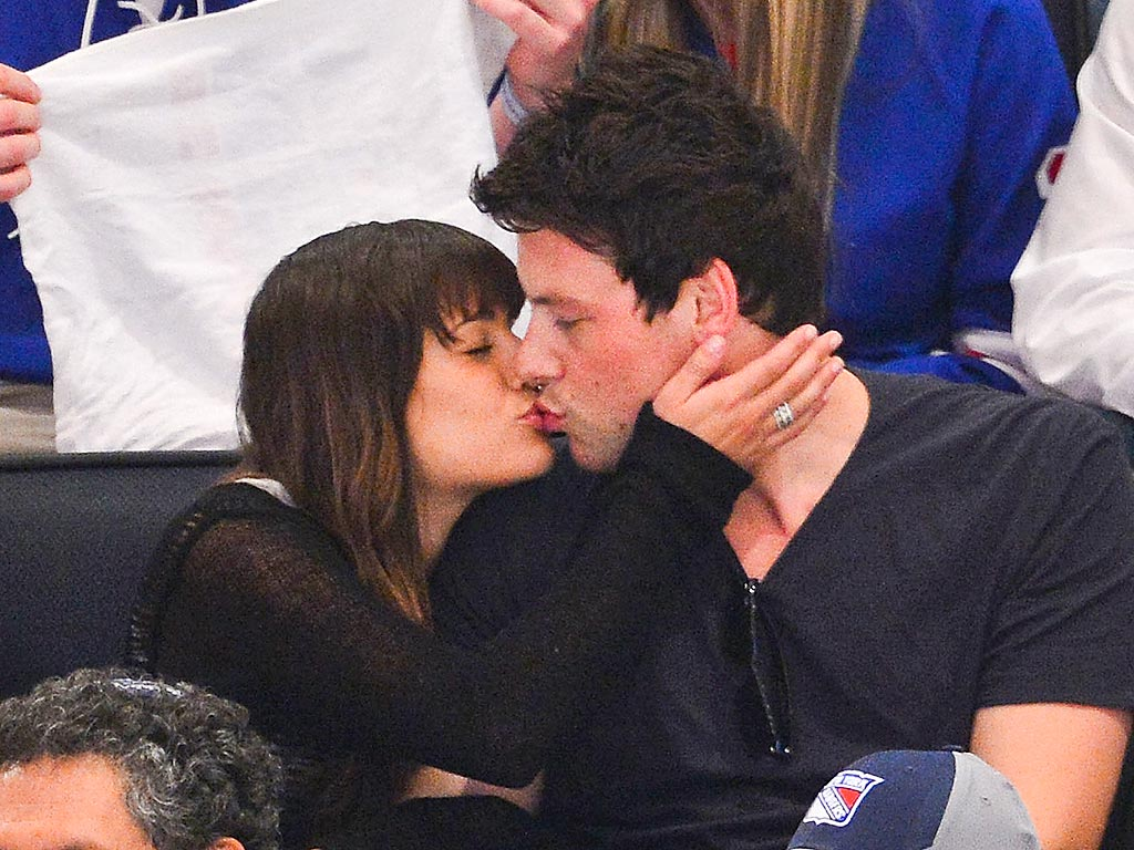 Lea Michele Filming Glee: 'Tears Will Happen'