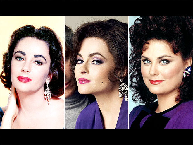 Lindsay lohan as elizabeth taylor star biopic photos for What does delta burke look like now