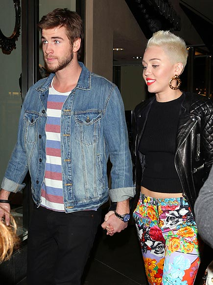 HOLLYWOOD photo | Liam Hemsworth, Miley Cyrus