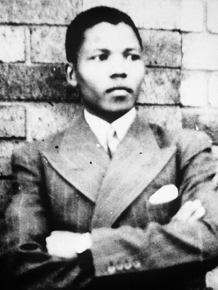 BOY LEADER photo | Nelson Mandela