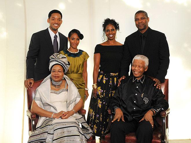 PARTY PEOPLE photo | Denzel Washington, Jada Pinkett Smith, Nelson Mandela, Will Smith