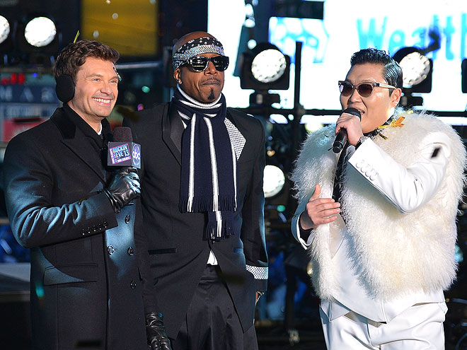 THE GANGNAM'S ALL HERE photo | M.C. Hammer, Ryan Seacrest
