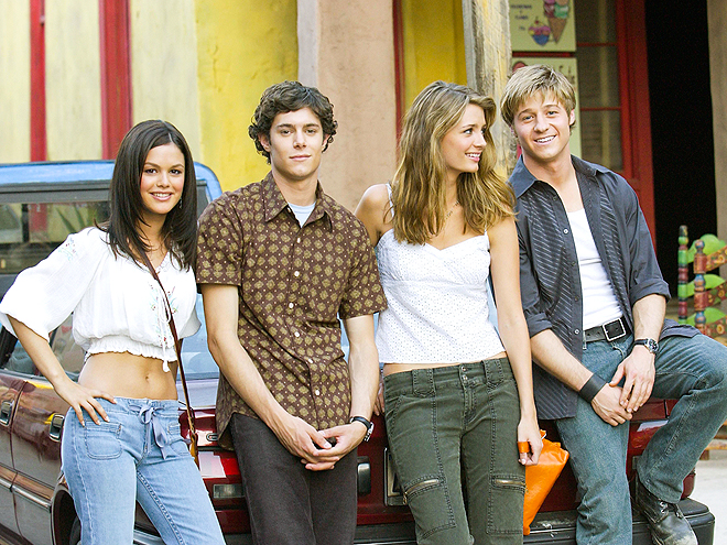 The O.C. CAST photo | Adam Brody, Benjamin McKenzie, Mischa Barton, Rachel Bilson