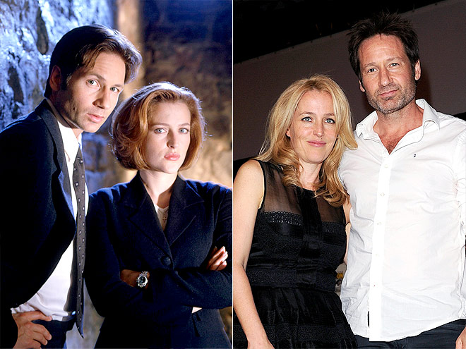 GILLIAN & DAVID photo | David Duchovny, Gillian Anderson