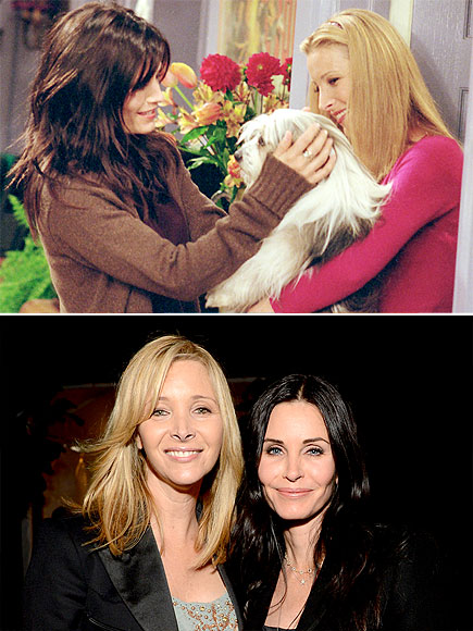 LISA & COURTENEY photo | Courteney Cox, Lisa Kudrow