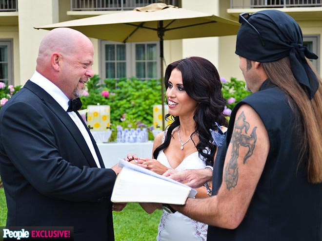 Photo Special Pawn Stars 's Rick Harrison's One-of-a-Kind Wedding