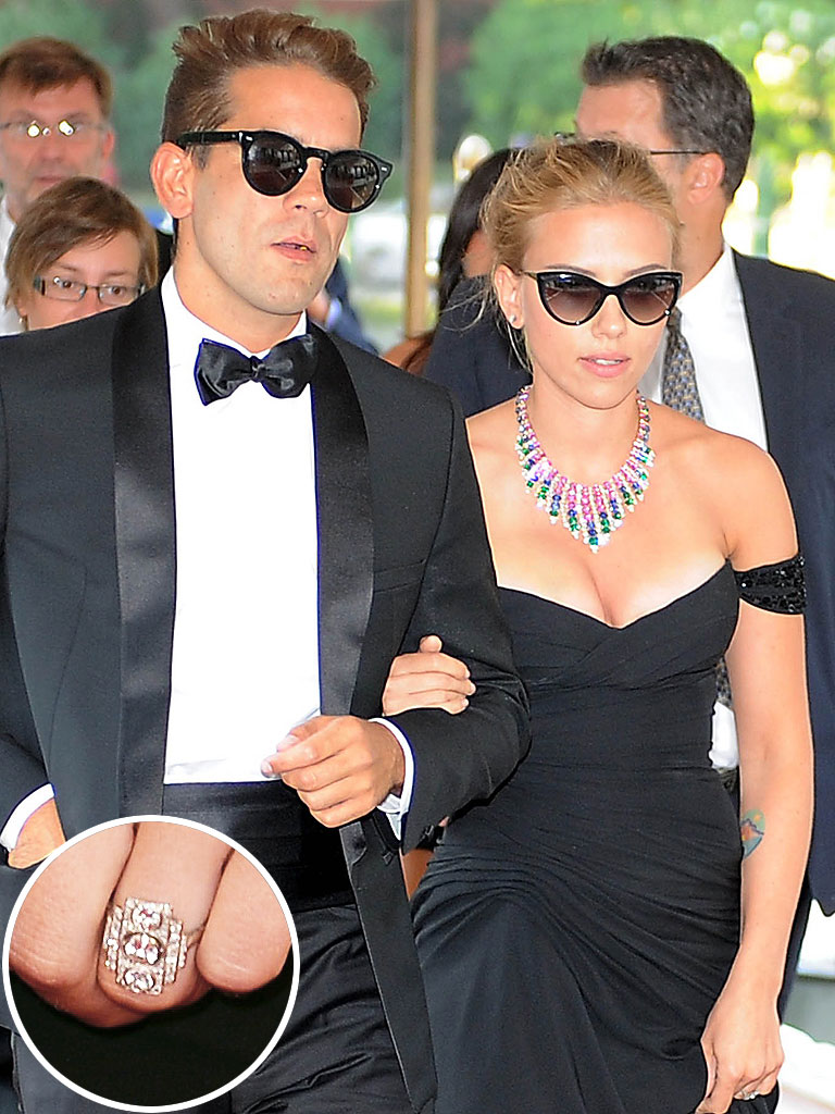Scarlett Johansson Ryan Reynolds Wedding Wedding Photography