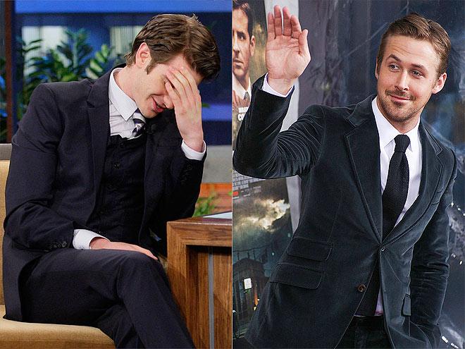 ANDREW: HAS A MAN CRUSH photo | Andrew Garfield, Ryan Gosling